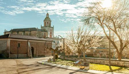 Church of San Andres Carrion de los Condes, Tierra de Campos, Palencia Castile  Leon Spain