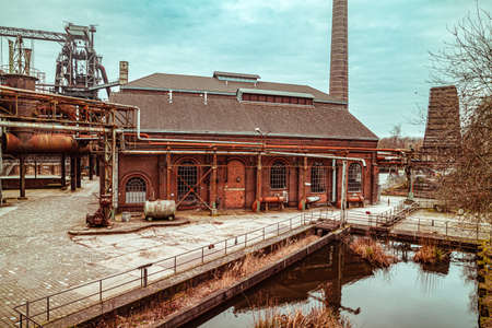 Landscape park Duisburg Nord industrial culture Germany Ruhr area