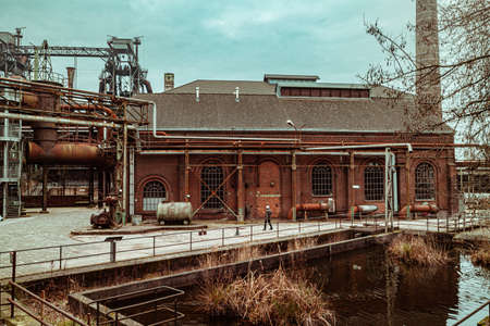 Landscape park Duisburg Nord industrial culture Germany Ruhr area