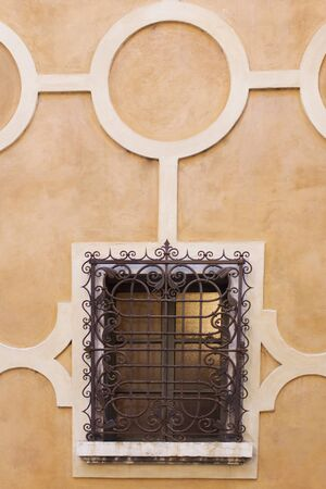 Verona  IT  - Typical Italia Renaissence Window, decoration