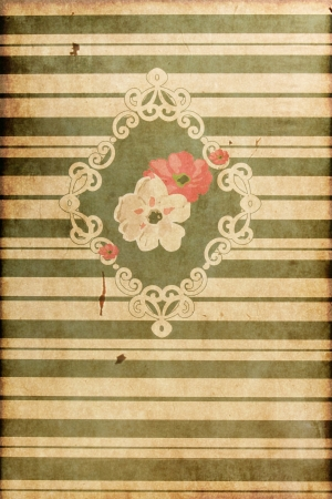 igrave: Texture - Vintage Floral Decoration, Old style