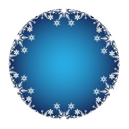 two thousand thirteen: Decoraci�n de Navidad enmarcado con iconos de color blanco nieve Vectores