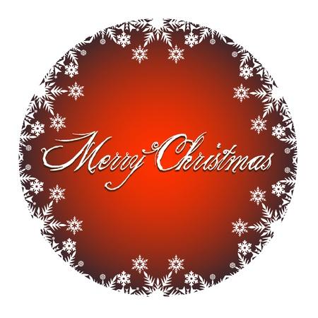 two thousand thirteen: Feliz Navidad Decoraci�n con los iconos de color blanco nieve