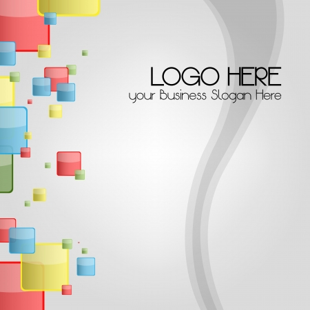 Business card or logo Background for stationary  A business multicolored background for the Contemporary Company Logo, perfect for stationary
