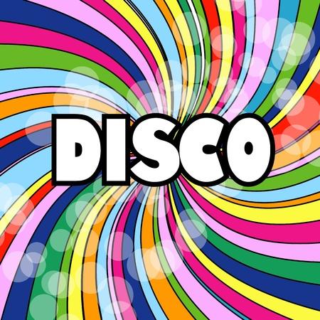 Résumé Disco Background Wallpaper style 80 plein de couleurs abstrait fond d'écran parfait pour les prospectus de fêtes