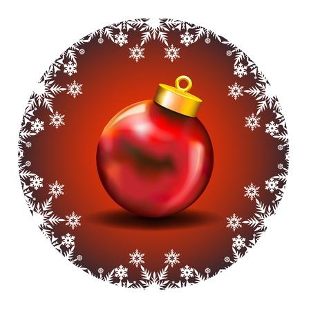 two thousand thirteen: Merry Christmas Decoration con iconos de color blanco nieve y Red Ball Merry Christmas Wishes enmarcado por una decoraci�n Snow White Icons en un fondo de color rojo oscuro con la bola roja