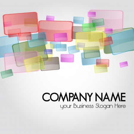 Business card or Design Background for stationary  A business multicolored background for the Contemporary Company Design, perfect for stationary