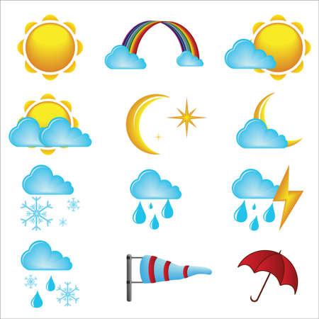 iconos del clima: Iconos del clima
