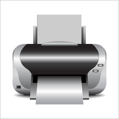 printer: Printer vector Illustration