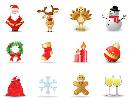 Christmas icons, part 1