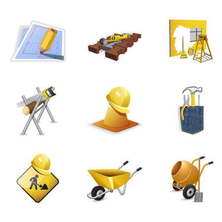 Construction tools, part 2 Stock Vector - 6113231