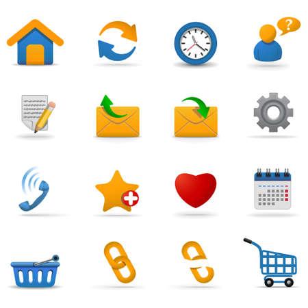Web icons set | Joy series. Part 1 Stock Vector - 6133444