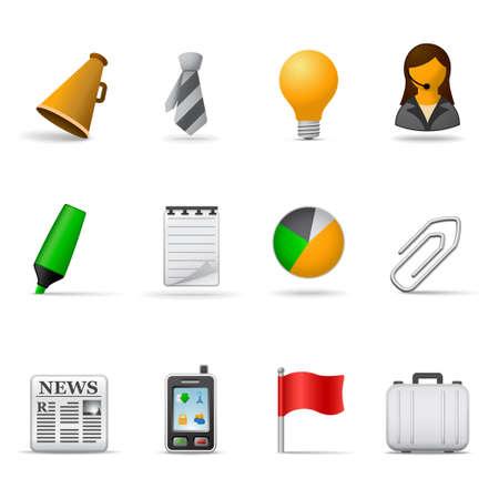 woman tie: Office icons, part 2 | Joy series