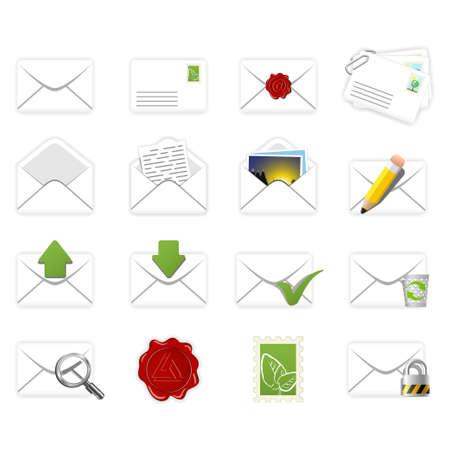 correspondence: Correspondence icons