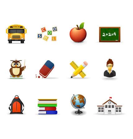 School pictogrammen, deel 1