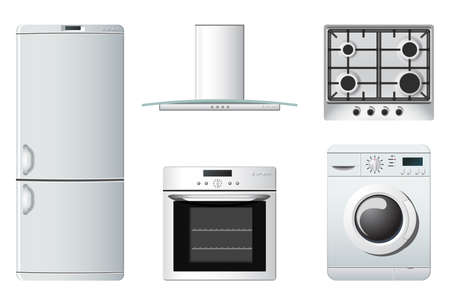 Household appliances | Kitchen Vector