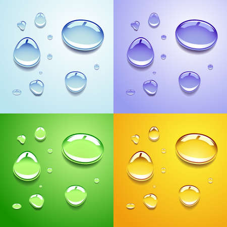 thirsty: Water drops