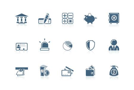 piccolo: Banking icons   Piccolo series
