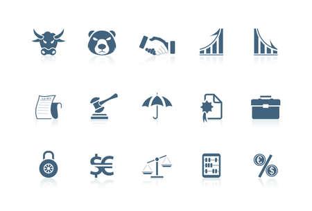 dandose la mano: Iconos financieros | serie Piccolo