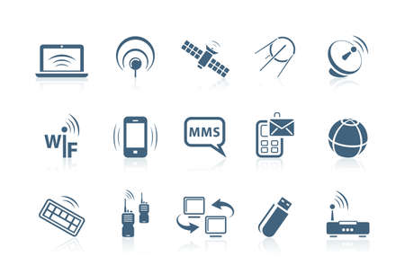 Wireless icons | Piccolo series Stock Vector - 7259112