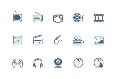 piccolo: Media icons   piccolo series