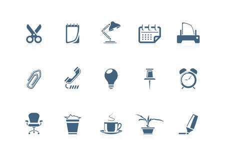 Office icons 1 | piccolo series