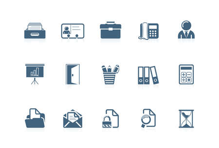 Office icons 2| piccolo series Illustration