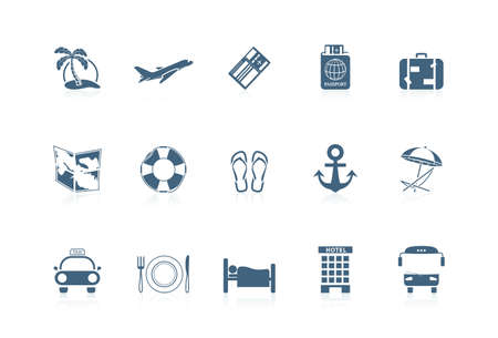 Vacation icons | piccolo series Stock Vector - 7360064