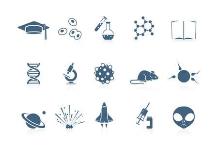 Iconos de ciencia | serie piccolo