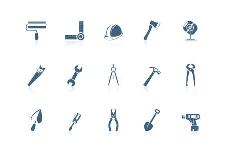 Building tools | piccolo series Stock Vector - 7516977