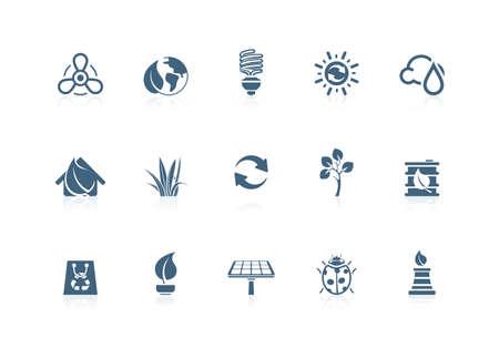 Evironmental icons | piccolo series Stock Vector - 7516981