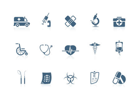 medical icons: Medical icons | piccolo series Illustration