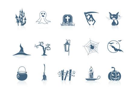 Halloween icons | piccolo series Stock Vector - 7694427