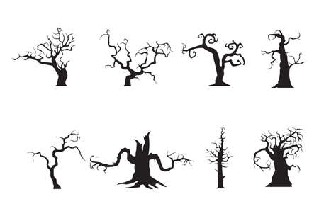 scary: Scarry trees Illustration