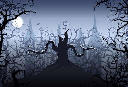 Halloween night Stock Vector - 7840942