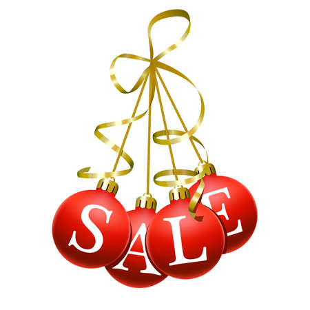 winter sales: Christmas sales symbol
