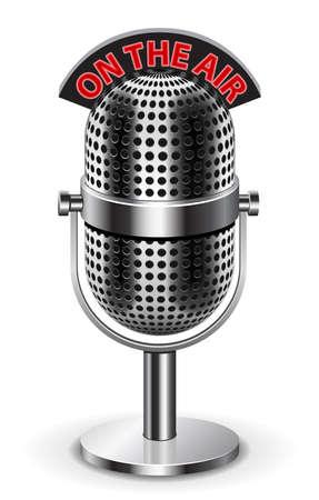 broadcasting: En el aire micr�fono