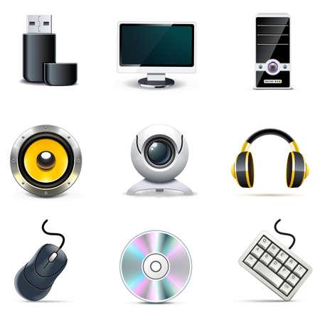 webcam: Computer parts | Bella series Illustration