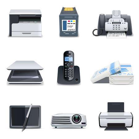 fotocopiadora: 3 De piezas de equipo | Bella serie