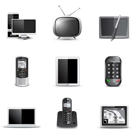 Communication technology | Bella series Stock Vector - 9605775