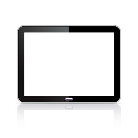 touch pad: Computer tablet Illustration