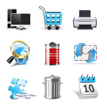 Web icons | Bella series, part 2 Vetores