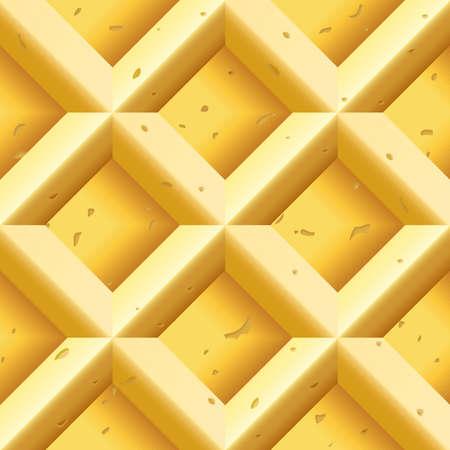 wafer: Cialde Seamless Vettoriali