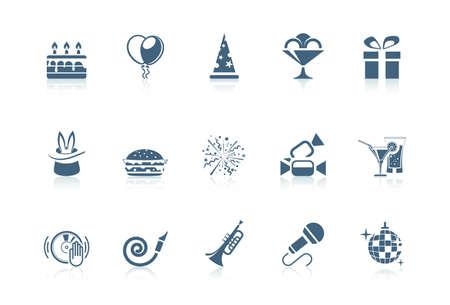 Birthday icons   Piccolo series Stock Vector - 9605773
