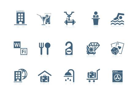 Hotel serivce icons | Piccolo series Vector