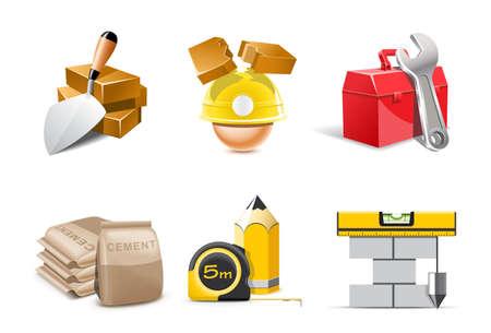 steel construction: Icone di costruzione   Bella serie