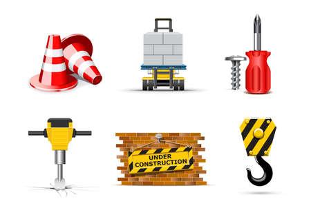 bella: Renovation  icons | Bella series Illustration