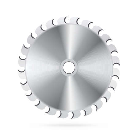 dangerous construction: Circular saw blade