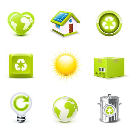iconos energ�a: Iconos de la ecolog�a | Bella serie parte 1