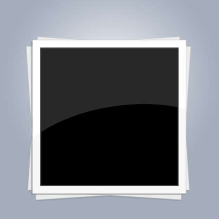 foto: Blank photo frame Illustration